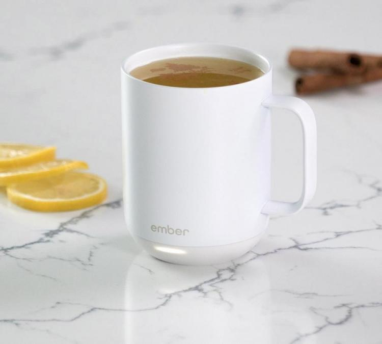 Ember: Smart Mug Keeps Your Coffee At The Perfect Hot Temperature