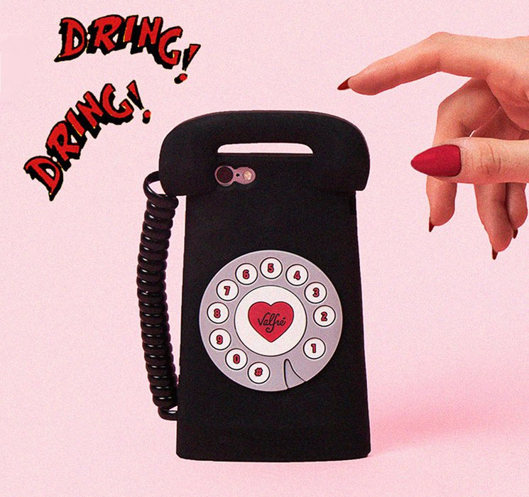 Valfre TELE 3D Rotary iPhone Case - Rotary Phone iPhone Case - Retro phone case