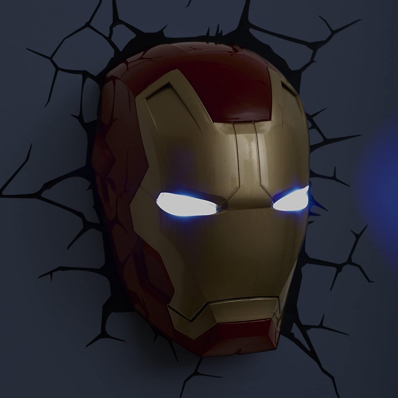 3D Superhero Night-Lights - Busting through walls Marvel night-lights