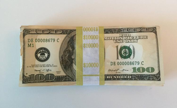 $50,000 Fake Movie Prop Money