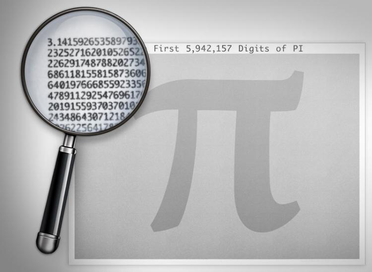 6 Million Digits of Pi Poster
