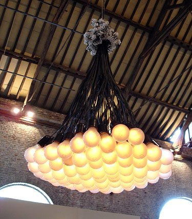 85 Light Bulb Chandelier