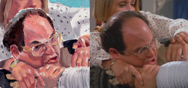 George Costanza Pillow - Scene 8