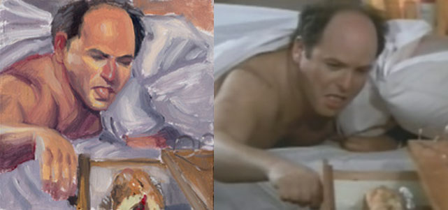 George Costanza Pillow - Scene 3