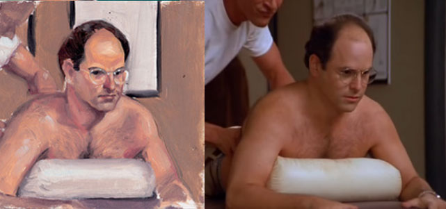 George Costanza Pillow - Scene 4