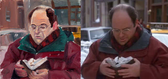 George Costanza Pillow - Scene 5