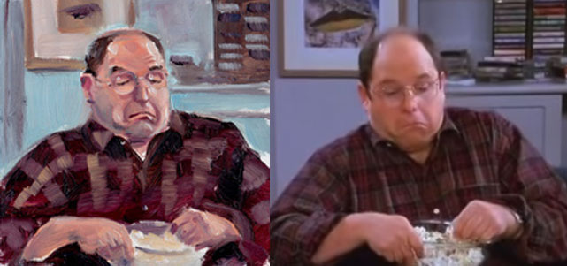George Costanza Pillow - Scene 9