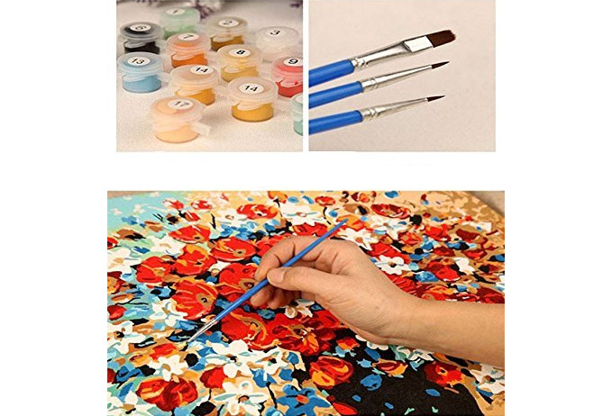 Paint By Numbers Kit For Adults Lets You Paint Your Own Masterpiece - Van Gogh Adult Paint By Numbers Kit