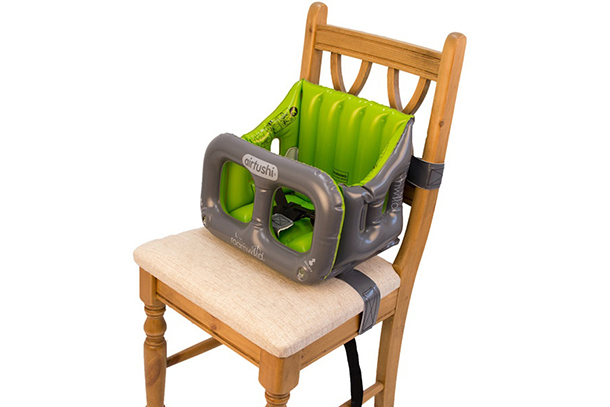 Airtushi Inflatable Travel High-Chair - Portable high-chair