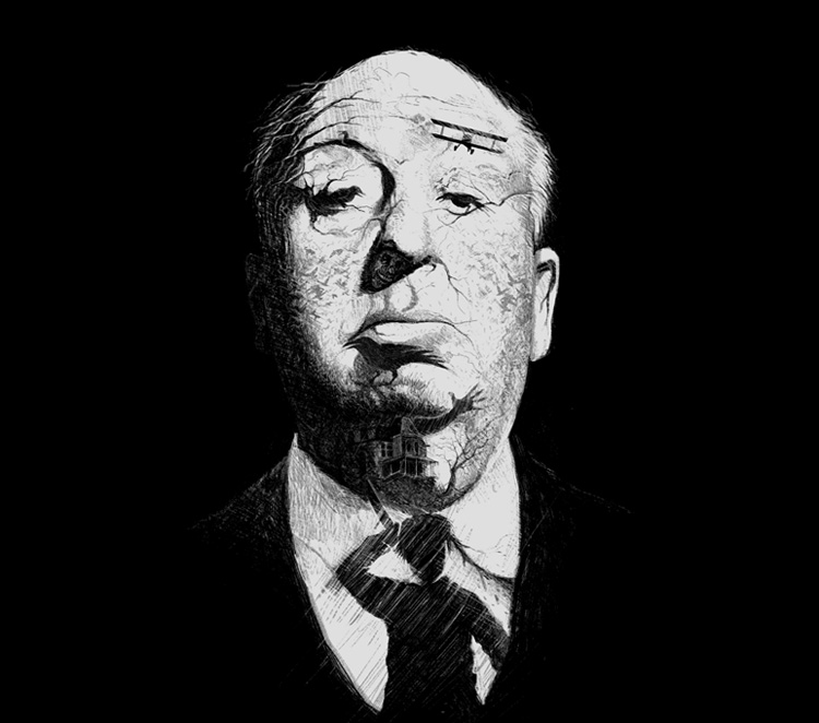Shadows of Suspense - Alfred Hitchcock Hidden Images Poster