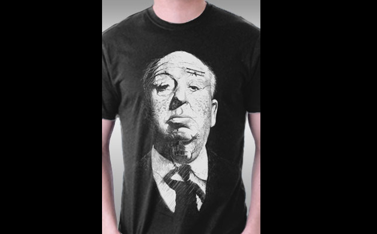 Shadows of Suspense - Alfred Hitchcock Hidden Images T-Shirt