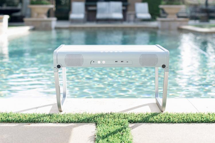 GoPorTable Ultimate Party Table - Folding smart table with speakers and charging dock