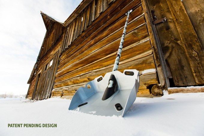 Alpha Shovel - Extremely Rugged Winter Shovel With Saw In Handle - Hardcore Shovel