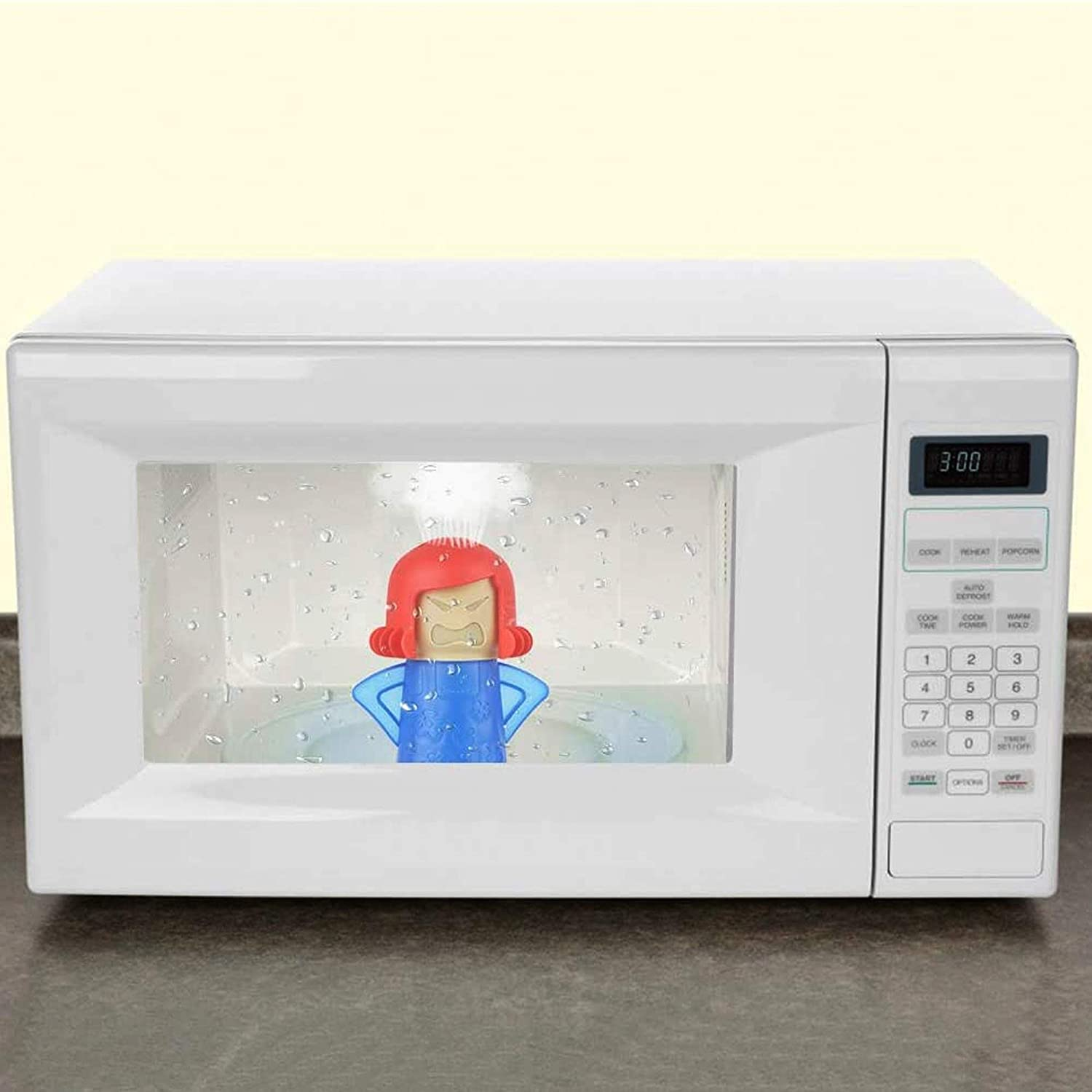 Angry Mama Microwave Cleaner Uses Steam To Clean The Crud Off Microwave