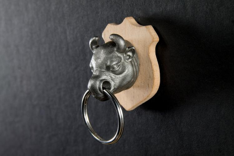 Magnetic Animal Head Key Holder - Hunting Trophy Animal Head Key Holder