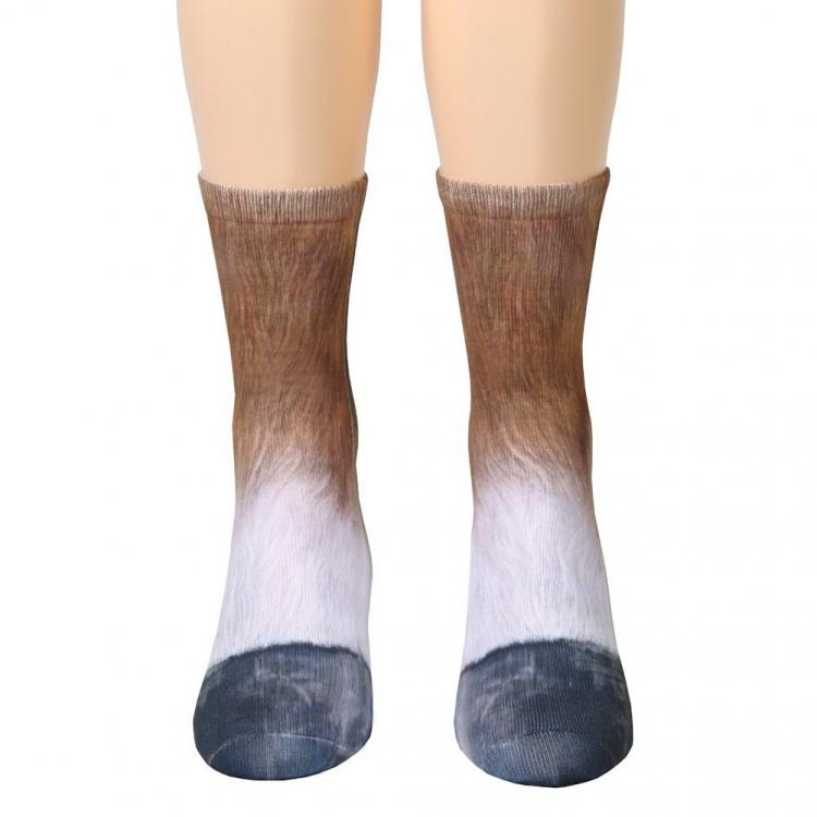 Animal Feet Socks: Socks Turn Your Feet Into Animal Paws