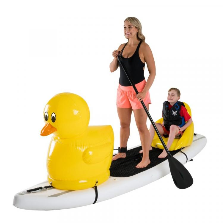 Stand-up Paddle-Board Floats Turn Your Board Into a ducky - ducky floats for SUP