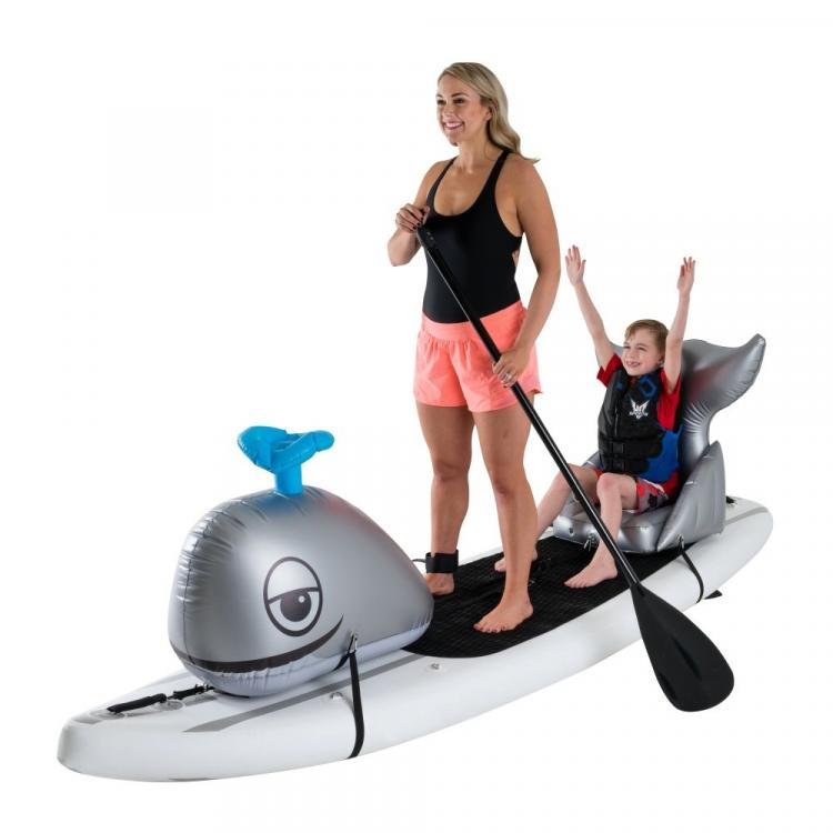 Stand-up Paddle-Board Floats Turn Your Board Into a whale - whale floats for SUP