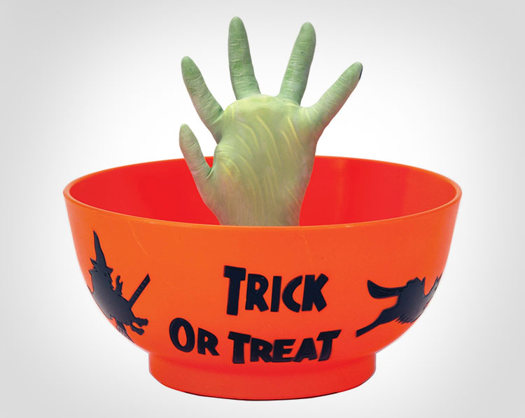 Animated Monster Hand Candy Bowl