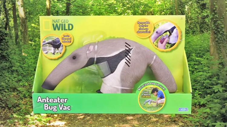 Anteater Bug Vacuum - Bug Observer Toy