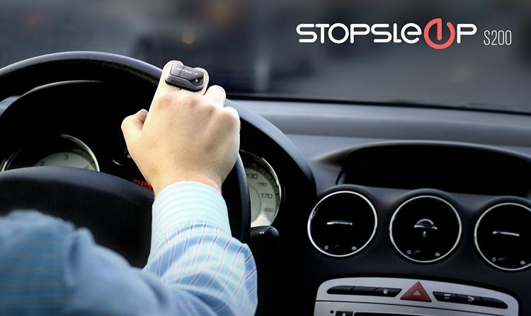 StopSleep - Anti-sleep ring device keeps you awake while driving