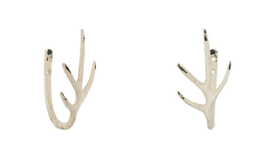 Deer Antler Curtain Tiebacks