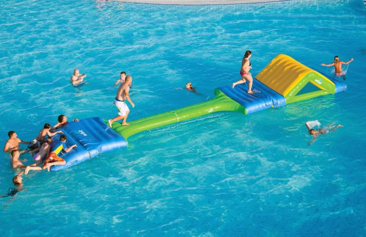 AquaDuel Inflatable Water Based Duel Game