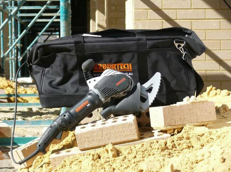 Arbortech Brick and Mortar Saw Saws Through Brick Like Butter - Arbortech brick saw AS170