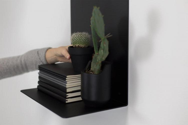 Artifox Minimal Wall Shelf - Magnetic Wall shelf lets you create your own unique arrangements