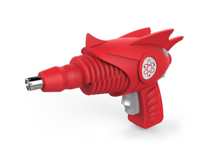 Atomic Trimmer - Futuristic Ray Gun Ear and Nose Hair Trimmer