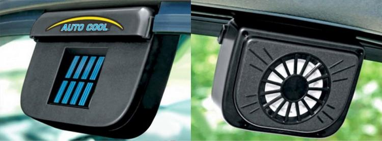 Auto Cool Solar Powered Air Ventilation Fan - Keeps Your Car Cool While Parked On Hot Sunny Days