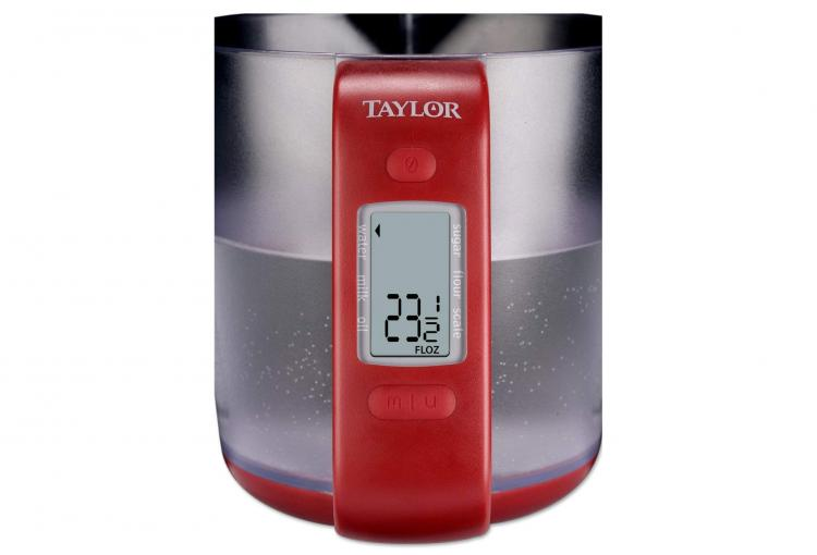 Auto-Measuring Cup With Built-In Digital Scale - Digital Measuring Cup