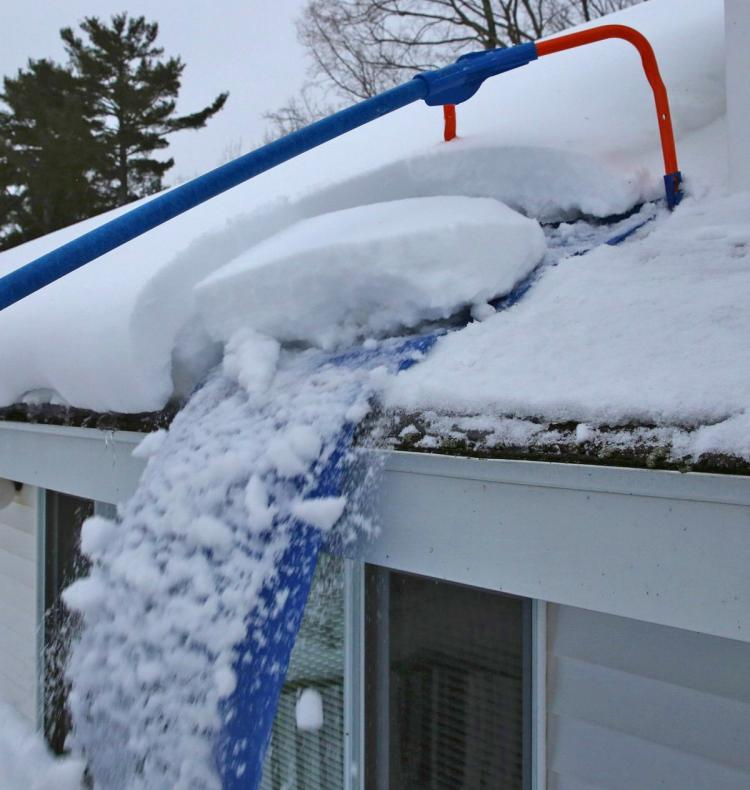 Avalanche Snow Removal Tool - Remove Snow From Roof With Sliding Roof Tool