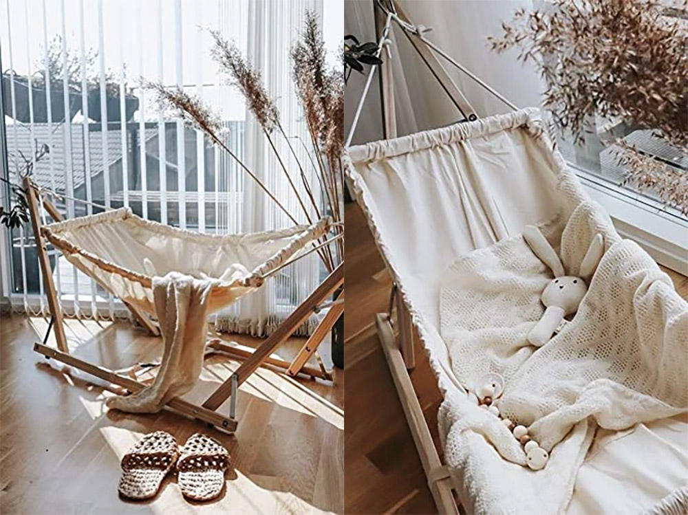 Tiny Outdoor Baby Hammock