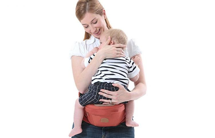 Baby Hip Carrier - Baby Hipseat - Carry baby on your hip