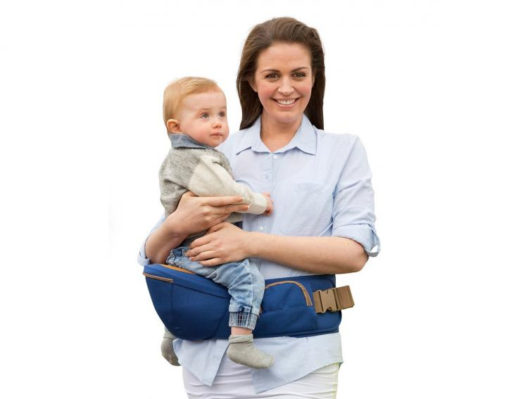 Baby Hip Carrier Lets You Rest Your Baby On Your Hip