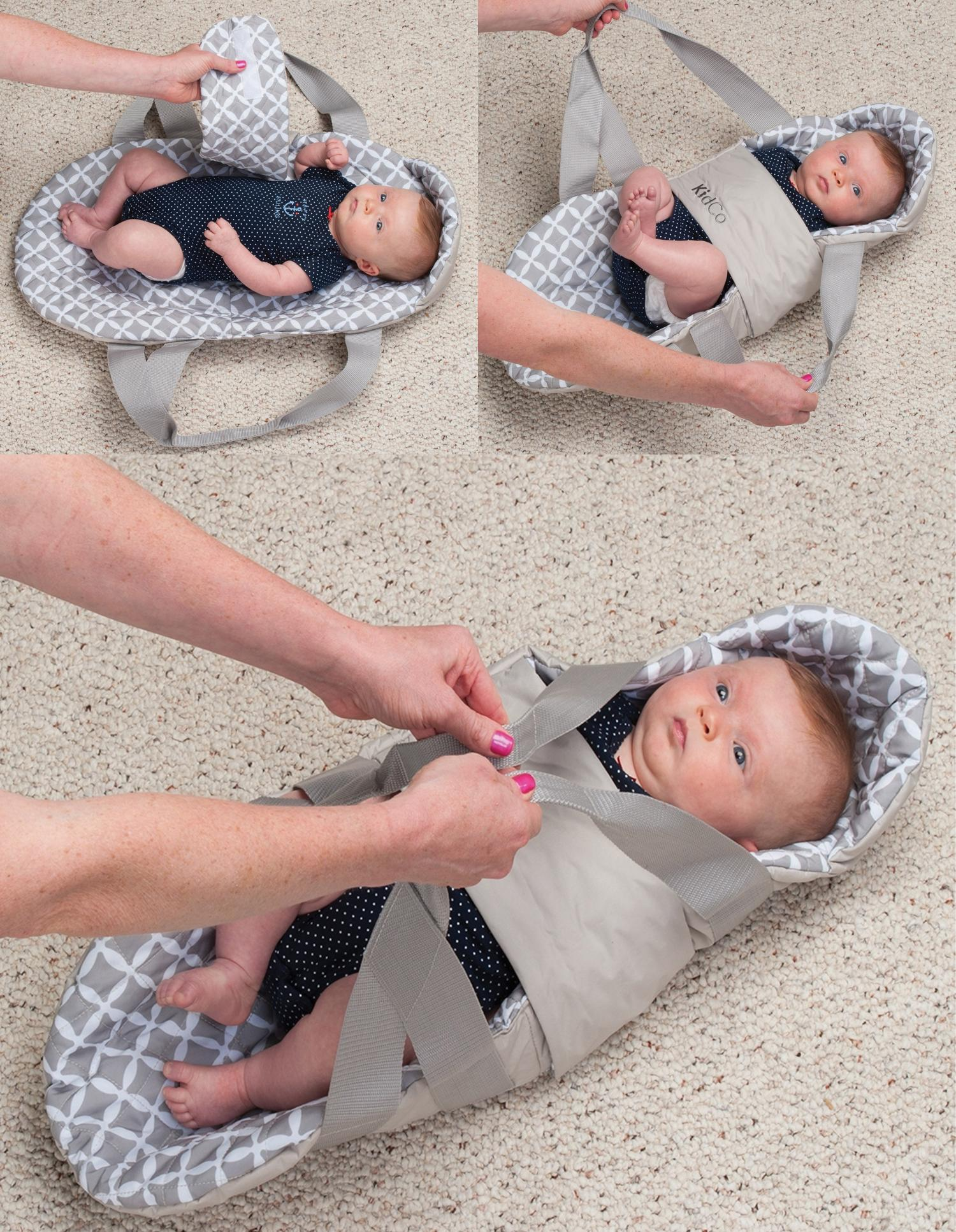 SwingPod Baby Swaddle Swing - Swing baby with arm