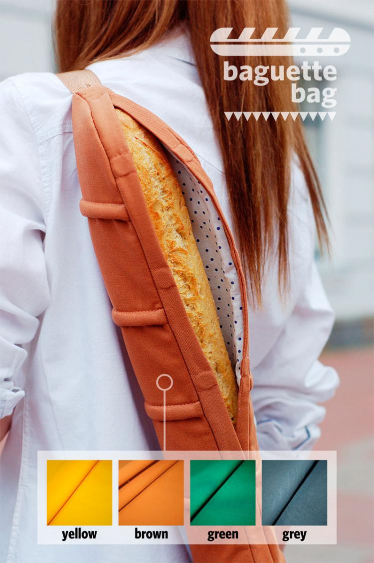 Baguette Bag - Baguette Bread Shoulder Bag