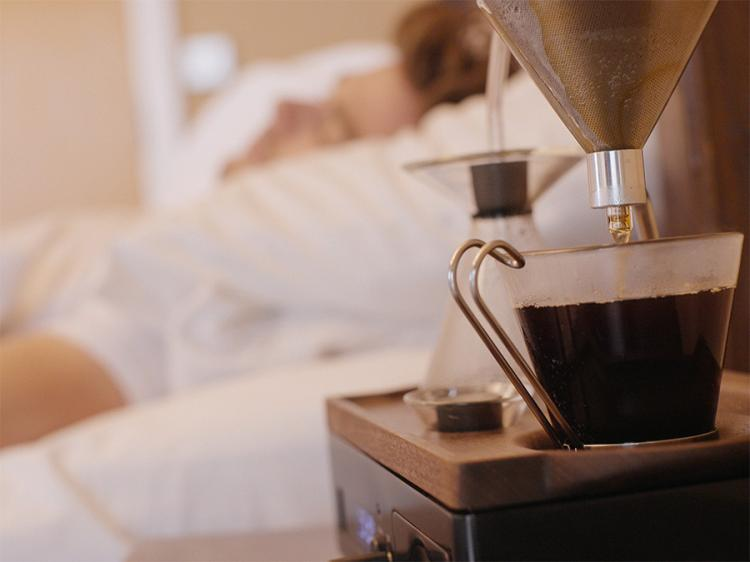 The Barisieur Coffee Brewing Alarm Clock - Coffee Alarm Clock