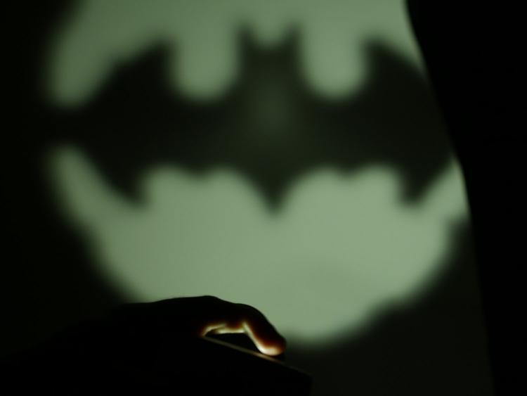 Batman Bat-signal Smart Phone Flashlight Attachment
