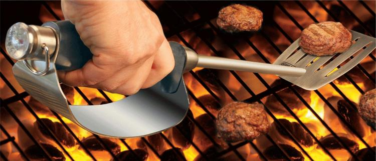 Grill Daddy Hand Heat Shield Tongs