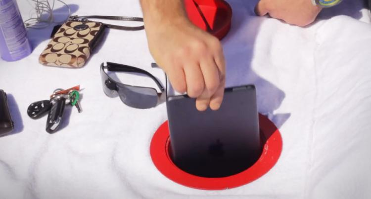 Beach Vault Conceals Your Valuables At The Beach