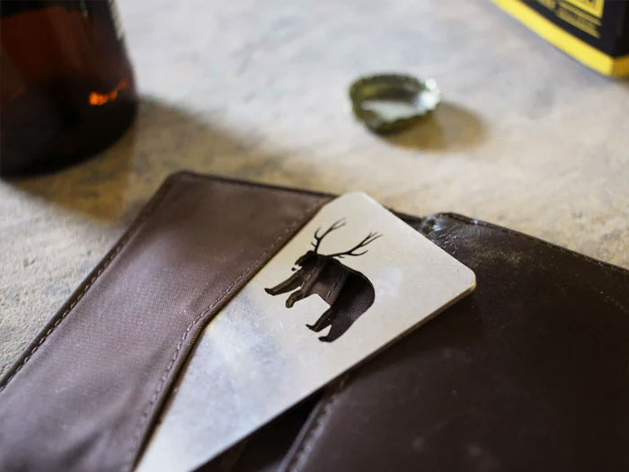 Bear With Antlers = Beer - Bottle Opener
