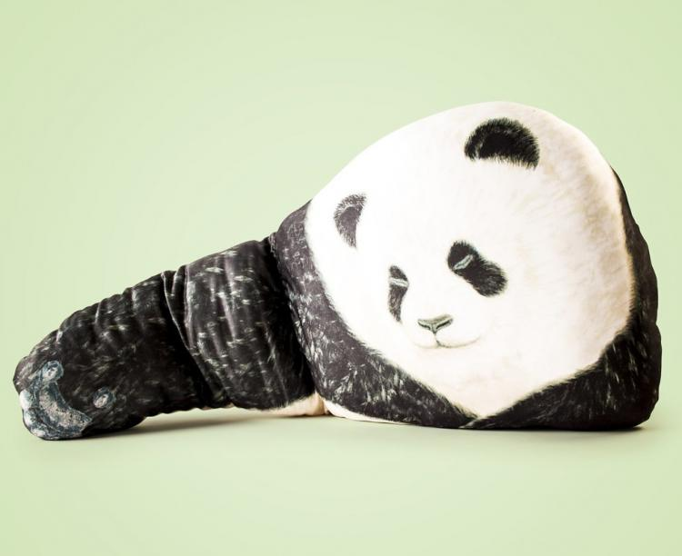 Bear Hug Pillow - Panda Bear