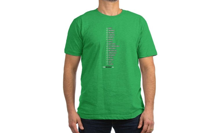 Beard Measurement Chart - T-shirt