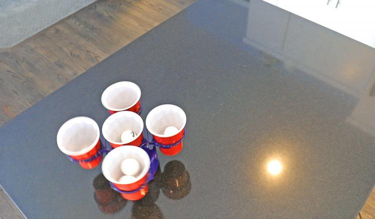 Beer Pong Robot With Edge Detection and Remote Control - Pong Bot