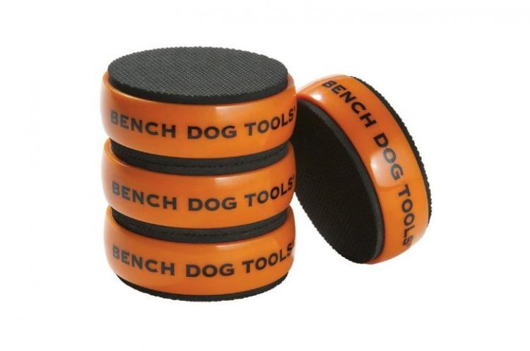 Bench Dog Bench Cookie Work Grippers Elevate wood to rout, sand, and carve