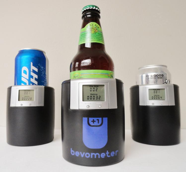 Bevometer Beer Tracking Koozie Counter