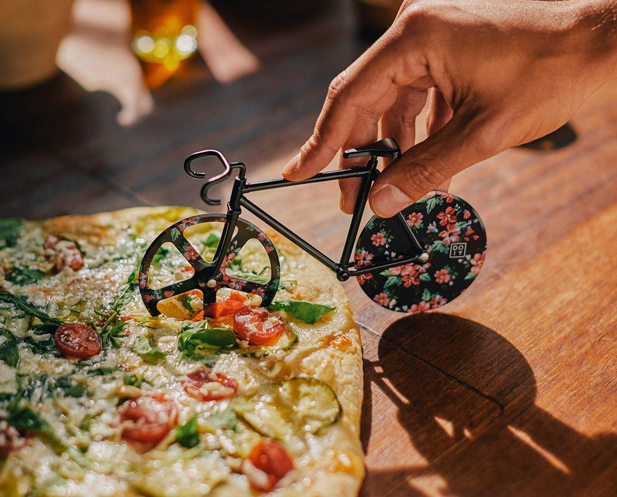 Bicycle shaped pizza cutter - Bike pizza slicer