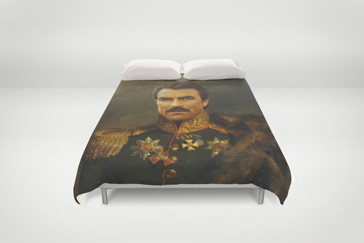 Tom Selleck Duvet
